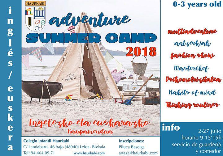 Summer Camp HAURKABI Adventure