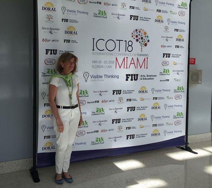 Piluca Baselga participa en el ICOT 2018 de MIAMI