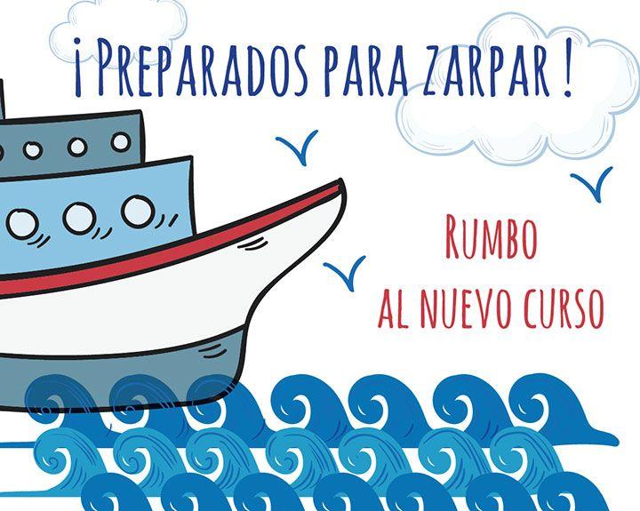 ¡Preparados para el embarque!